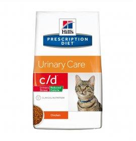 Hill's prescription diet gatto c/d al pollo reduced calorie da 4 kg