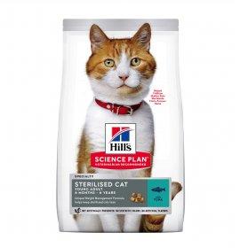 Hill's science plan gatto adult sterilizzato al tonno da 1,5 kg