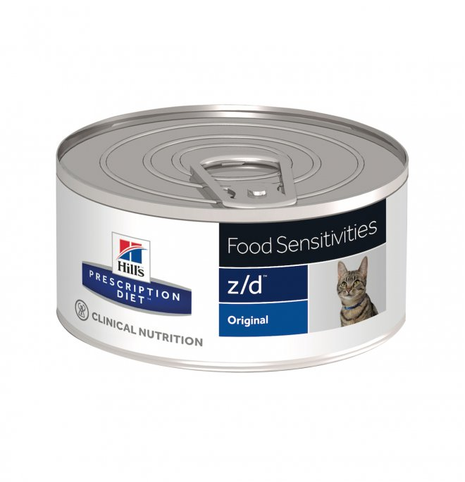 Hill's prescription diet gatto z/d da 156 gr in lattina