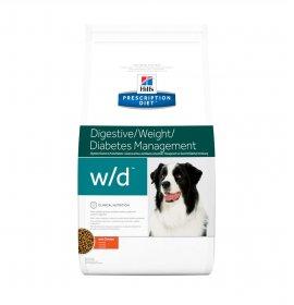 Hill's prescription diet cane w/d al 4 kg