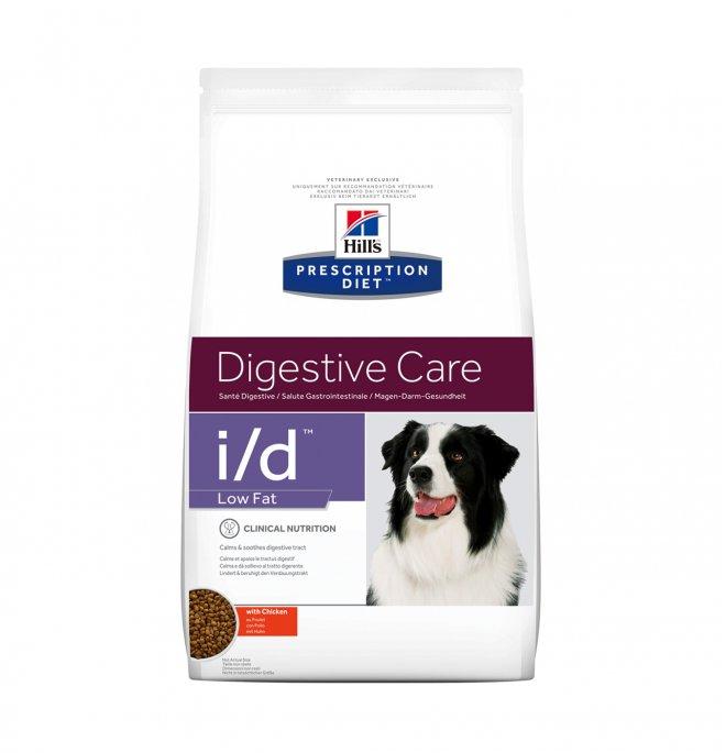 Hill's prescription diet cane i/d low fat da 1,5 kg