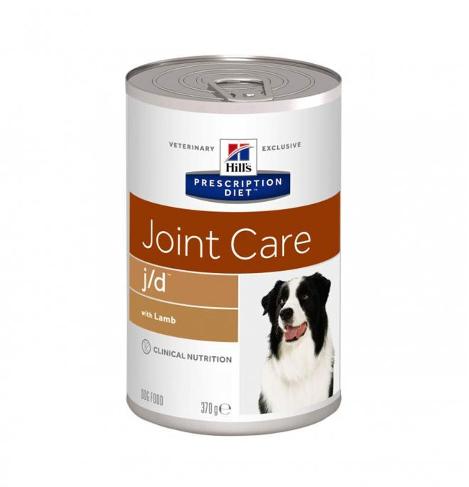 Hill's prescription diet cane j/d da 370 gr in lattina
