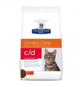 Hill's prescription diet gatto c/d urinary stress al pollo da 4 kg