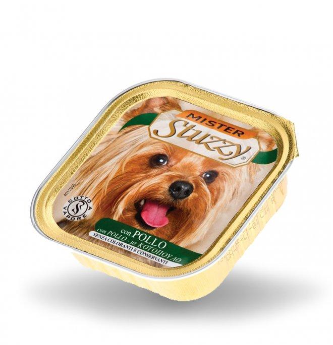 Agras mister stuzzy cane con pollo da 150 gr in vaschetta