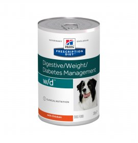 Hill's prescription diet cane w/d da 370 gr in lattina