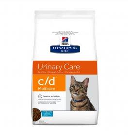 Hill's prescription diet gatto c/d multicare al pesce da 1,5 kg