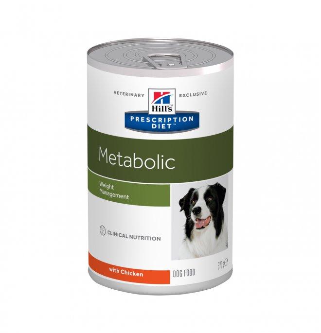 Hill's prescription diet cane metabolic da 370 gr in lattina
