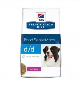Hill's prescription diet cane d/d all' anatra e riso 12 kg