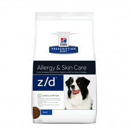 Hill's prescription diet cane z/d allergy & skin care da 3 kg