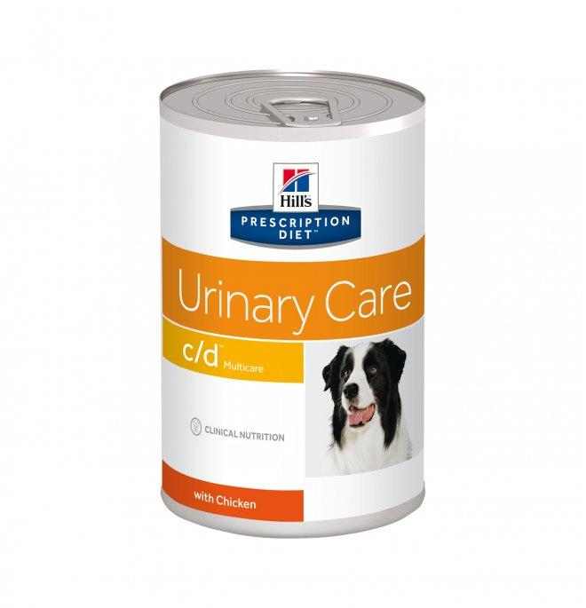 Hill's prescription diet cane c/d da 370 gr in lattina
