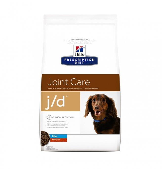 Hill's prescription diet cane j/d mini da 2 kg
