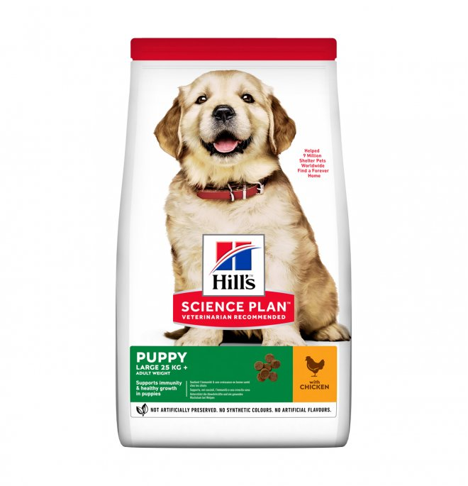 Hill's science plan cane puppy large breed al pollo da 2,5 kg
