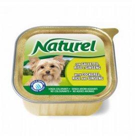 Lifepetcare cane naturel dog galletto riso e ginseng da 150 gr in vaschetta