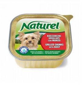 Lifepetcare cane naturel dog bocconcini grigliati con manzo da 150 gr in vaschetta