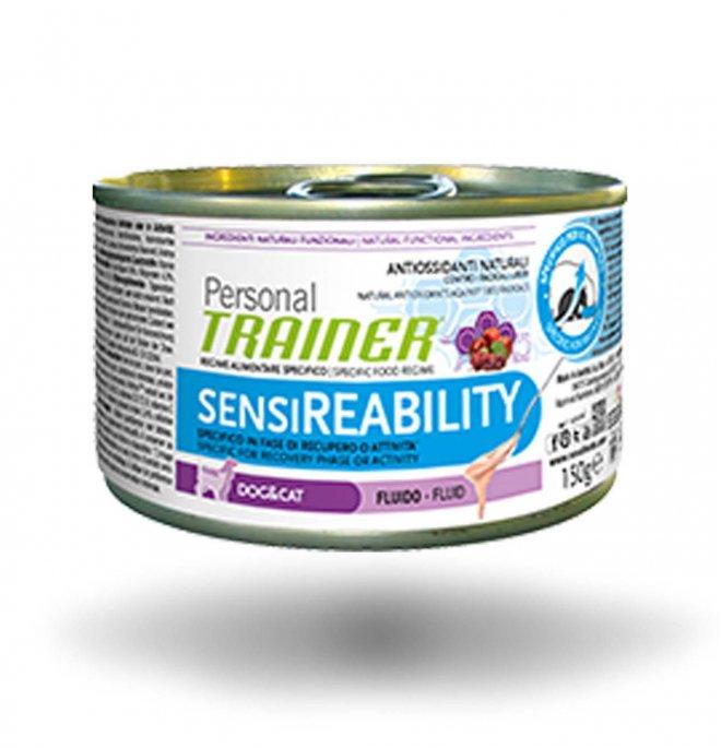 Trainer cane gatto personal adult sensireability da 150 gr in lattina