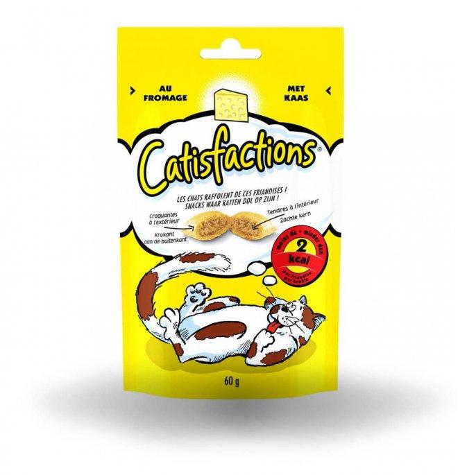 Catisfaction gatto al formaggio da 60 gr