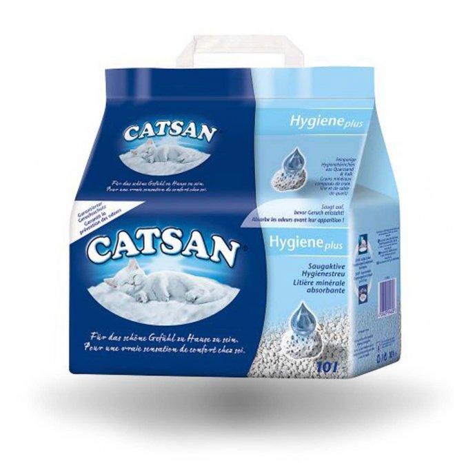 Catsan lettiera gatto hygiene plus da 10 litri