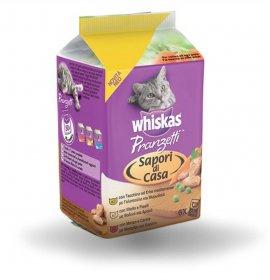 Whiskas gatto pranzetti tacchino vitello manzo 6 buste da 50 gr