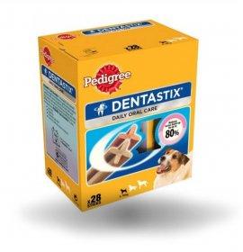 Pedigree cane snack dentastix small multipack 21 + 7 pezzi omaggio da 440 gr