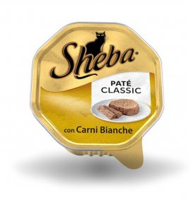 Sheba gatto classic pate' carni bianche da 85 gr