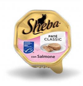 Sheba gatto classic pate' salmone da 85 gr