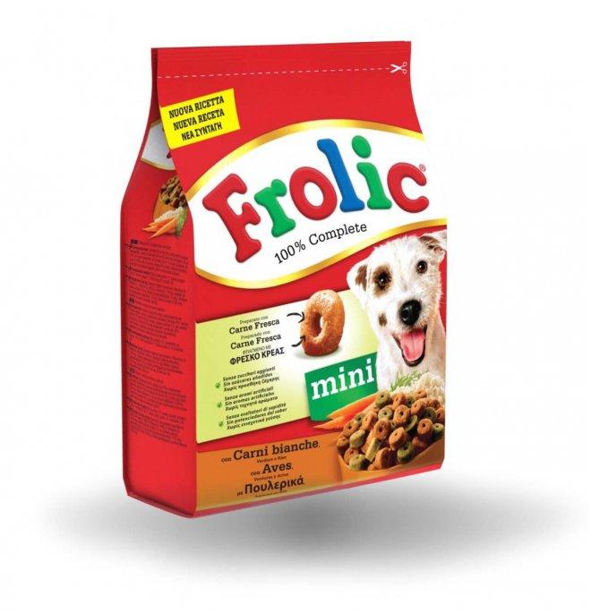 Frolic cane complete mini carni bianche 1 kg