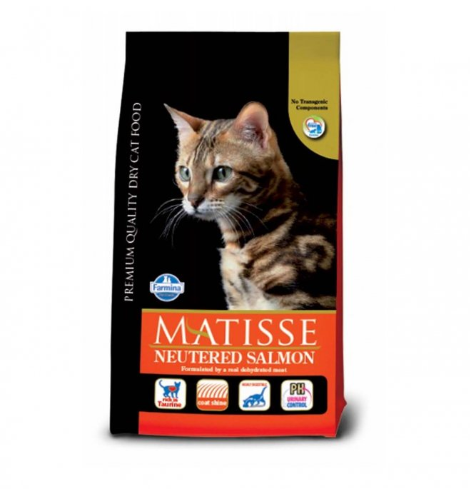 Farmina matisse gatto adult neutered salmone da 1,5 kg