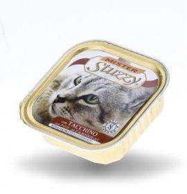 Agras mister stuzzy gatto con tacchino da 100 gr in vaschetta