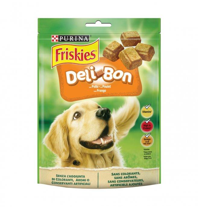 Purina friskies snack cane delibon al pollo da 130 gr
