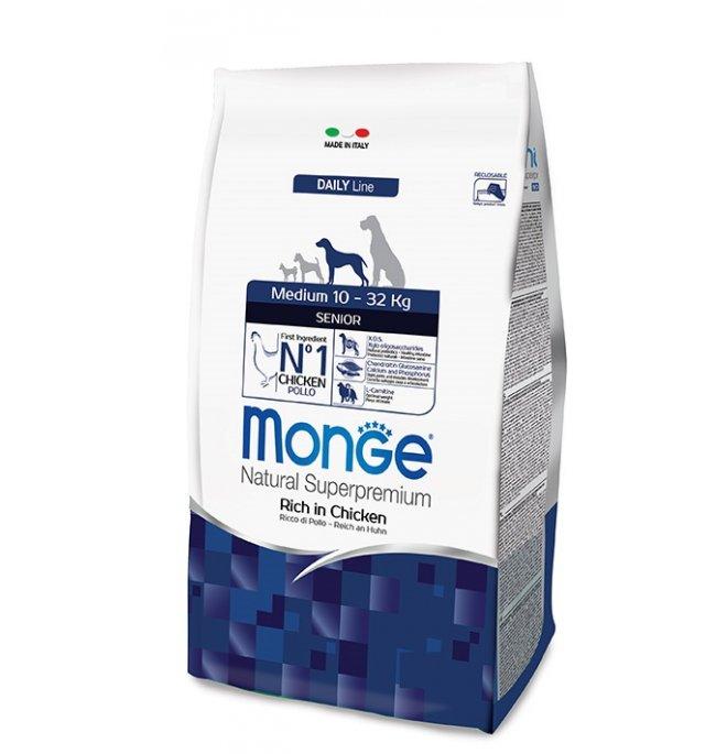 Monge superpremium cane senior medium da 12 kg