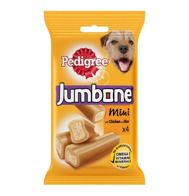 Pedigree cane snack jumbone mini da 180 gr