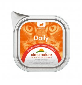 Almo nature gatto dailymenu con manzo da 100 gr in vaschetta