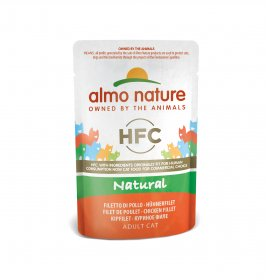 Almo nature gatto classic con filetto di pollo da 55 gr in busta