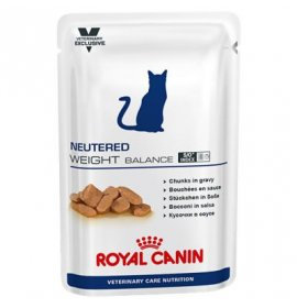 Royal canin gatto neutered weight balance 100 gr in busta