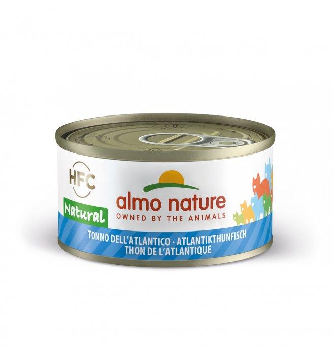 Almo nature gatto legend con tonno dell' atlantico da 70 gr in lattina