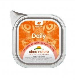 Almo nature gatto dailymenu con salmone da 100 gr in vaschetta