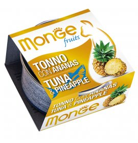 Monge gatto fruit al tonno e ananas da 80 gr in lattina