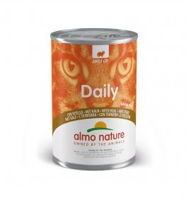 Almo nature gatto dailymenu con vitello da 400 gr in lattina
