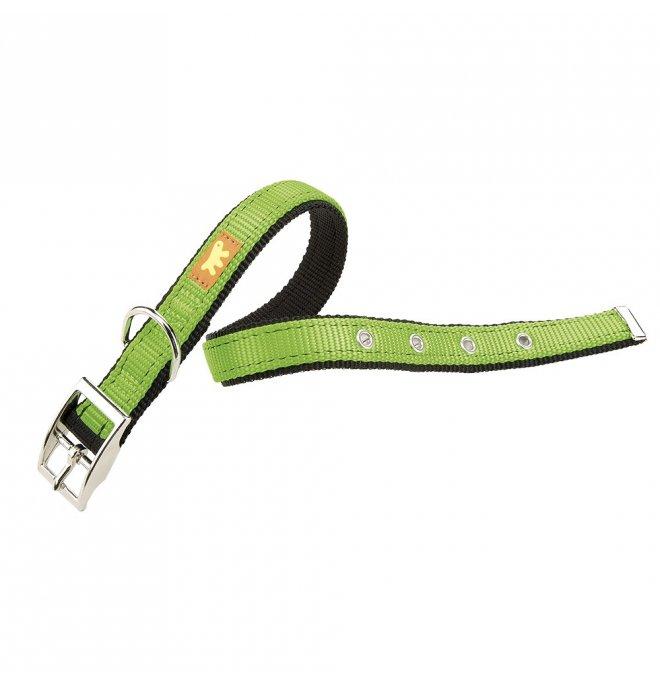Ferplast cane collare dual cf 25 / 45 verde