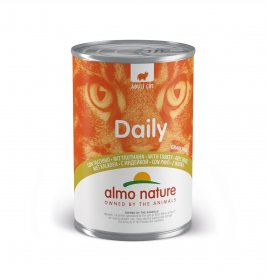 Almo nature gatto dailymenu con tacchino da 400 gr in lattina