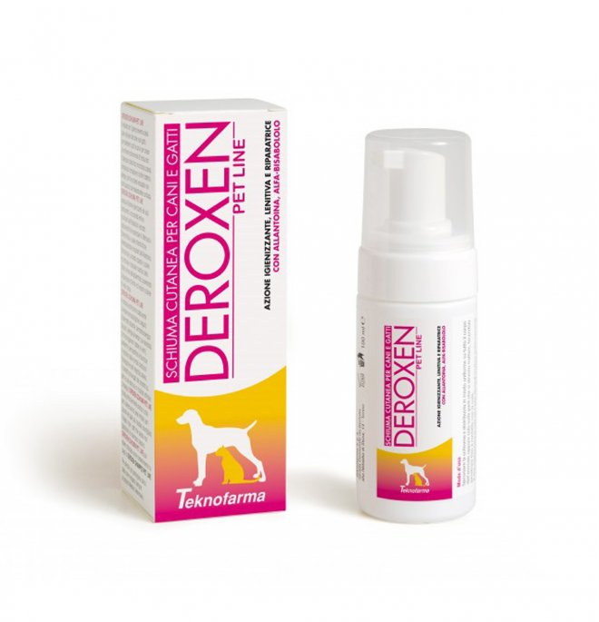Deroxen schiuma spray 200ml