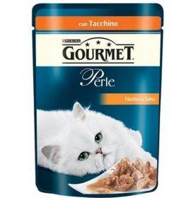 Purina gourmet perle gatto al tacchino da 85 gr in busta