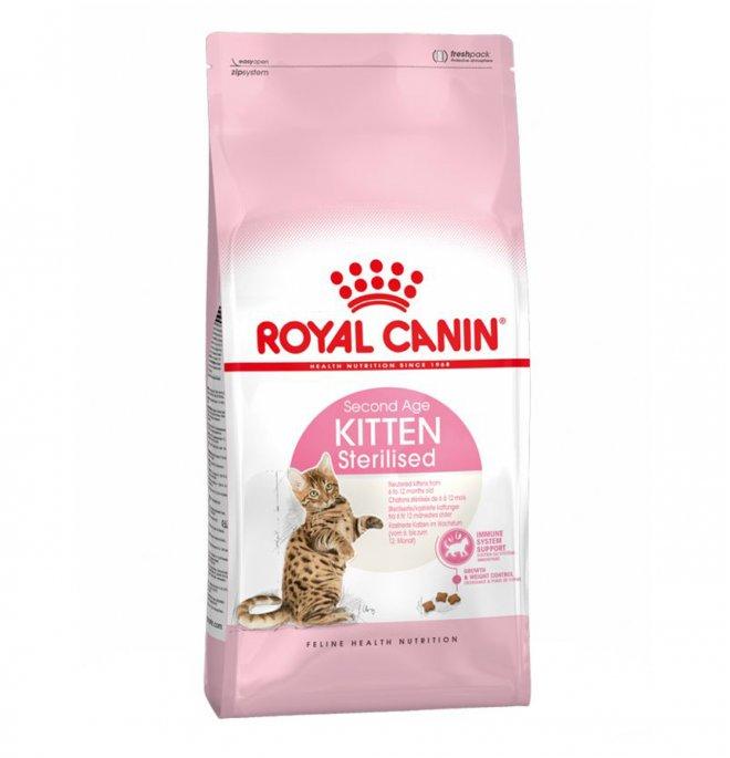Royal canin gatto kitten sterilised da 2 kg