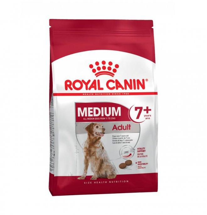 Royal canin cane adult medium 7 + da 4 kg