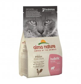 Almo nature gatto holistic kitten con pollo da 400 gr