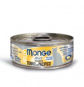 Monge gatto jelly ai trancetti di tonno da 80 gr in lattina