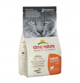 Almo nature gatto holistic adult con pesce e riso da 400 gr