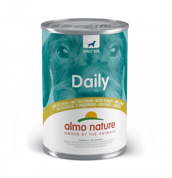 Almo nature cane dailymenu con tacchino da 400 gr