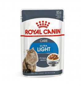Royal canin gatto ultra light gravy da 85 gr in busta