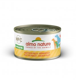 Almo nature cane classic con filetto di pollo da 95 gr in lattina